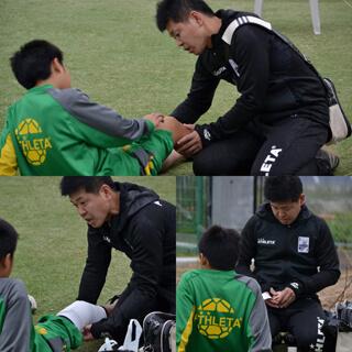 ジュニアユースサッカーチーム専属トレーナー